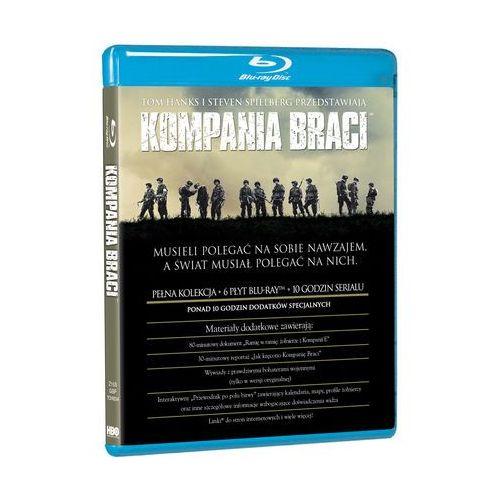 Kompania Braci (6 Bd)(6Blu-ray) - Dostawa zamówienia do jednej ze 170 księgarni Matras za DARMO z kategorii Filmy wojenne