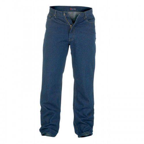Rockford Comfort Indigo Duże Jeansy Męskie, jeansy