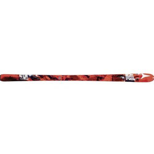 Narty skialpinistyczne Ultimate 65 163 Brak wiązania, z pasami Czerwony