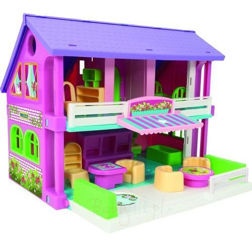 Play House Domek dla Lalek - WADER 25400 - #A1 (5900694254008)