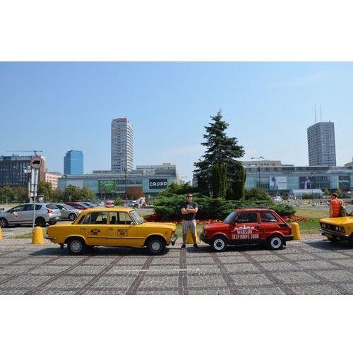 Wycieczka po Warszawie zabytkowym Fiatem 125p - Na tropie PRL-u - 4 godziny
