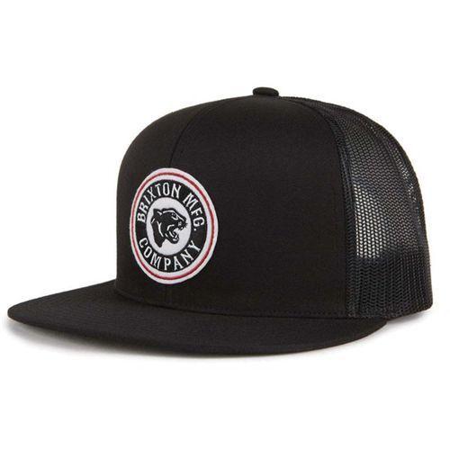czapka z daszkiem BRIXTON - Forte Mp Mesh Cap Black (BLACK) rozmiar: OS, kolor czarny