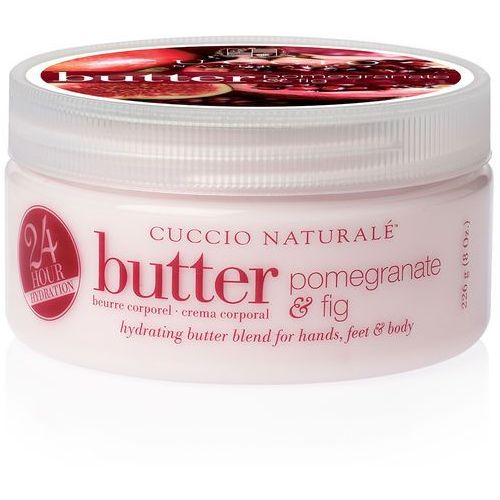 butter blend | nawilżające masło do ciała - owoc granatu i figa 226g marki Cuccio