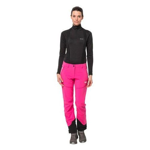 Damskie spodnie narciarskie GRAVITY TOUR PANTS WOMEN pink fuchsia - 80 (4060477292144)