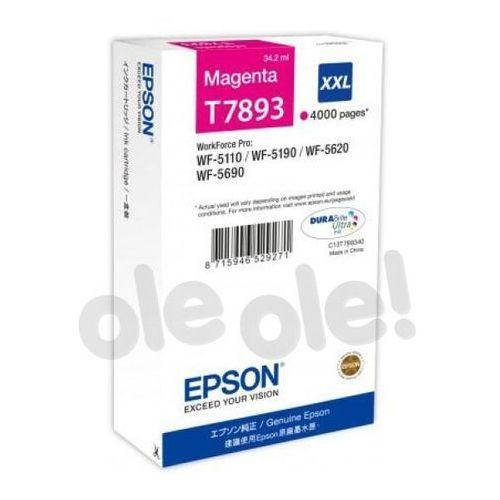 Epson  t7893 magenta 34,2 ml 4000 str. (c13t789340)