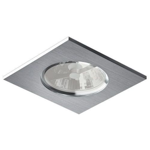 Bpm lighting Oczko kwadratowe su classic aluminium szczotkowane led ip65, 3024led