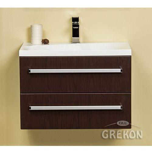 Szafka łazienkowa z umywalką 60/39/2m seria fokus wenge mat marki Gante