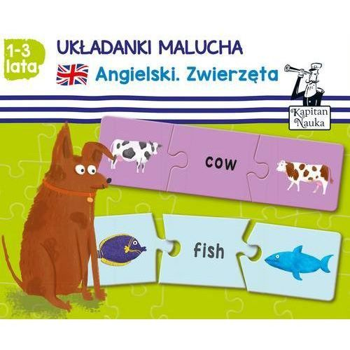 Układanki malucha angielski zwierzęta marki Edgard