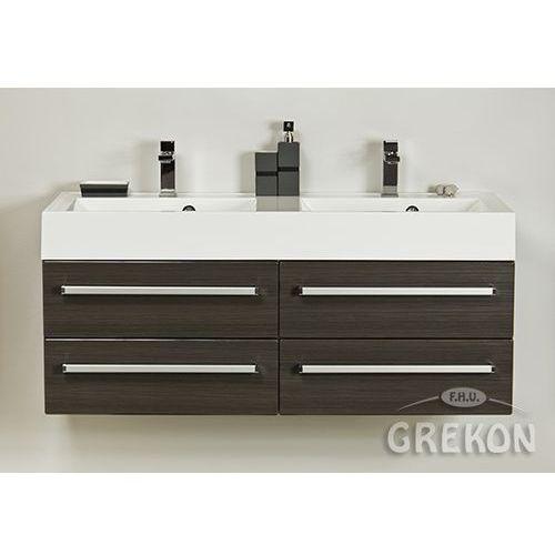 Szafka wisząca z umywalką 120/50/4 ufks seria fokus fino marki Gante