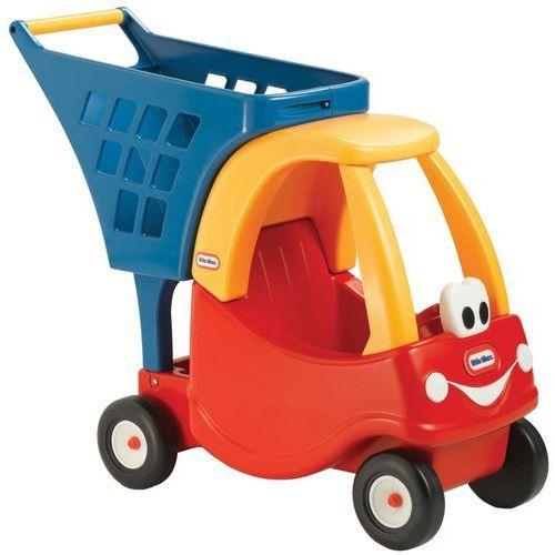 samochodzik wózek sklepowy marki Little tikes