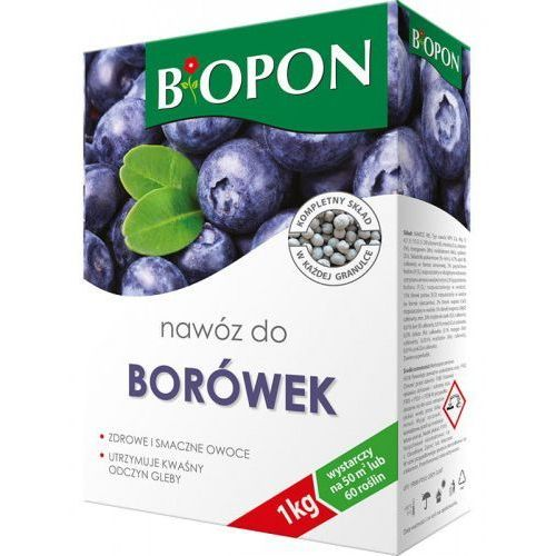 Nawóz do borówek karton 1kg BIOPON (BIO1130), 8609