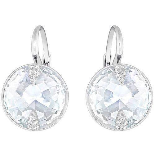 Swarovski Globe Pierced Earrings, White White Rhodium-plated z kategorii Kolczyki