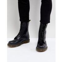 1490 10-eye boots in black - black, Dr martens