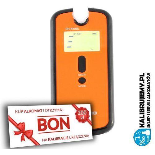 Alcofind ✭✭✭ alkomat elektrochemiczny  da-8100l + pakiet firma plus bon 200 zł na kalibrację
