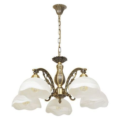 Żyrandol do salonu szklane abażury classic marki Mw-light