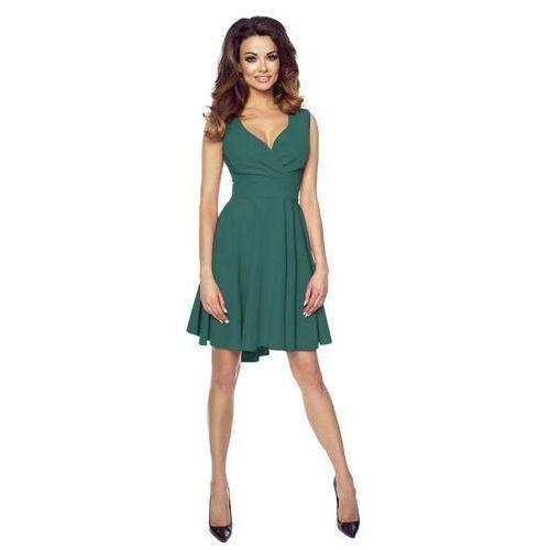 c9622768ff Zielona Zmysłowa Sukienka z Kopertowym D... Producent Kartes Moda ...