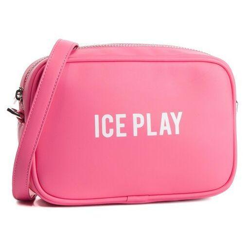 Torebka ICE PLAY - 19E W2M1 7200 6928 4427 Dark Fuchsia, kolor różowy