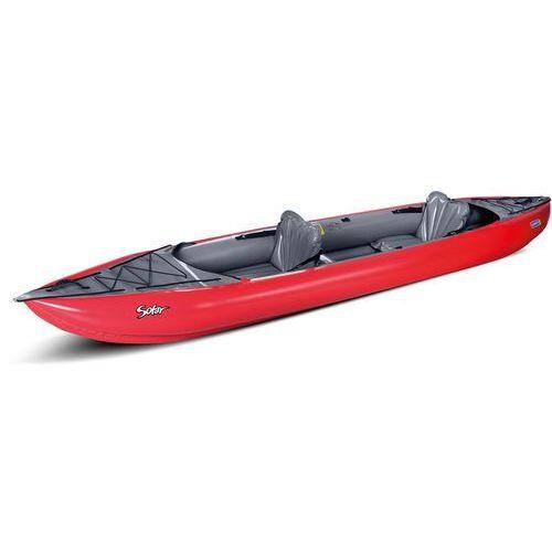 solar kajak szary/czerwony 2018 kajaki i canoe marki Gumotex