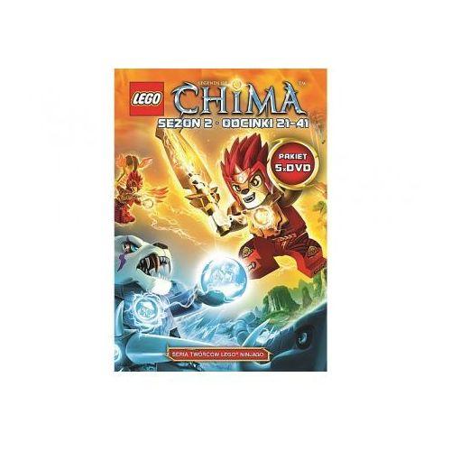chima. kompletna kolekcja 2. części 6-10 (5 dvd) wyprodukowany przez Lego