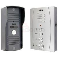 """Eura-tech Domofon """"eura"""" adp-13a3 """"invito"""" srebrny głośnomówiący bezsłuchawkowy, a31a213 (5905548275543)"""