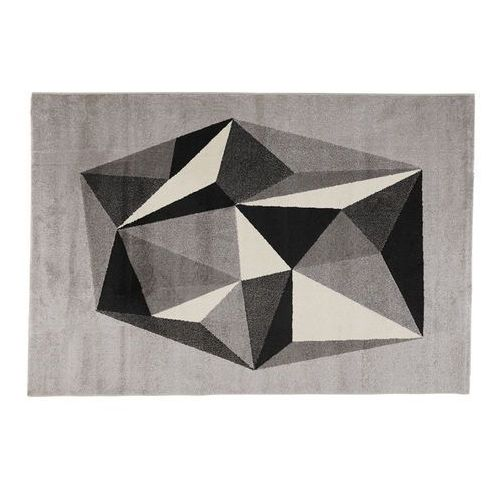 Vente-unique Dywan lyov – polipropylen – 160 × 230 cm – kolor szary