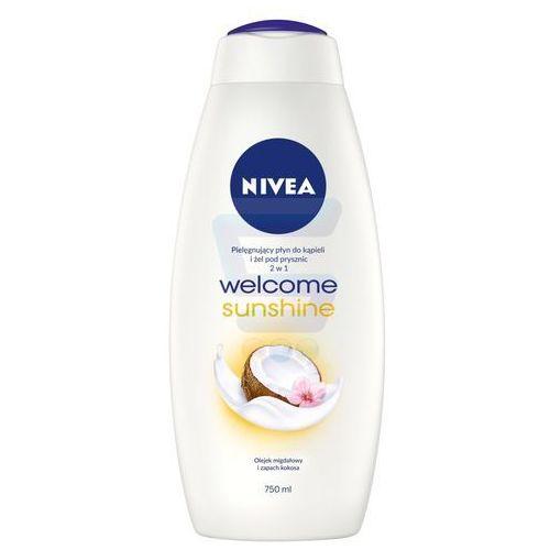Nivea  bath care płyn do kąpieli i żel pod prysznic 2w1 welcome sunshine 750ml - nivea (4005808741359)