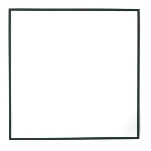 Menu - Dekoracja ścienna Kwadrat - ciemnozielona