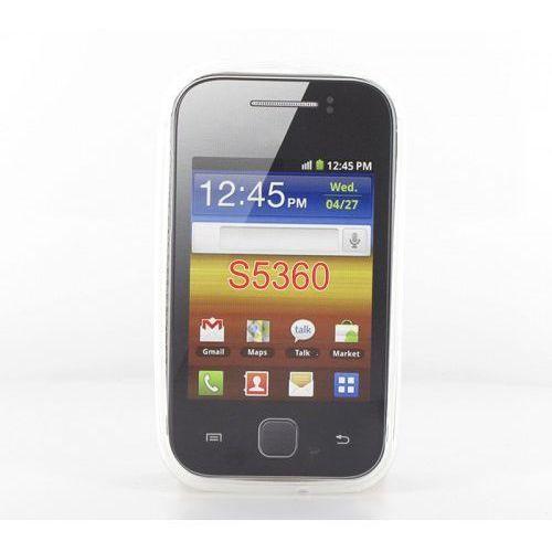 Geffy - Etui Samsung Galaxy Y S5360 TPU mat clear (5901832421429)