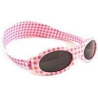 Okulary przeciwsłoneczne dzieci 2-5lat UV400 BANZ - Pink Check