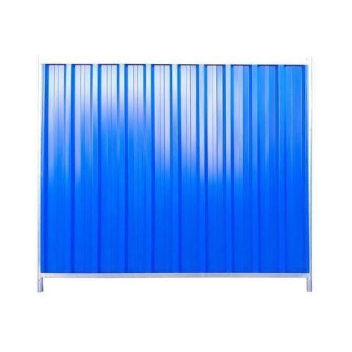 Panel ogrodzeniowy 216 x 200 cm budowlany trapezowy POLBRAM (5901122310761)