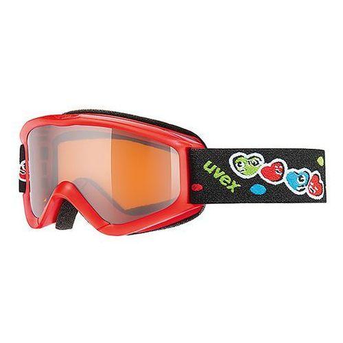 Dziecięce gogle narciarskie  speedy pro czerwono - czarne marki Uvex