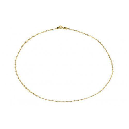 Biżuteria damska ze złota PR.585 14 Karat SAXO Łańcuszek złoty ZL.A.164.01, kolor żółty