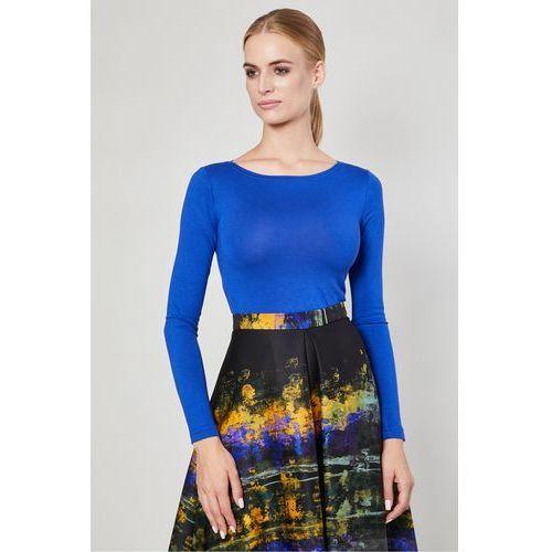 d4e2b1adecd8 Bluzka z długim rękawem Vares Cobalt - Click Fashion