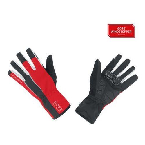 power ws rękawiczka rowerowa mężczyźni czerwony/c xl rękawiczki rowerowe długie marki Gore bike wear