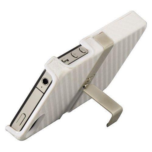Pokrowiec HAMA iPhone 5 Etui Exclusive Stand Biały - produkt z kategorii- Futerały i pokrowce do telefonów