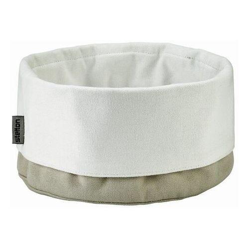 Stelton - Koszyk na pieczywo - duży - biało-piaskowy