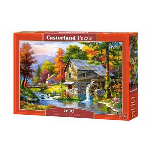 Castor Puzzle old sutter's mill 500 - (5904438052691)