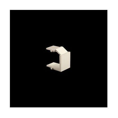 Kontakt-simon Zaślepka otworu wtyku rj45/rj12 do pokrywy gniazda teleinformatycznego; złoty mat