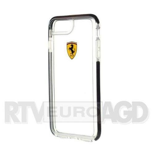 feglhcp7lbk iphone 7 (przezroczysty-czarny) marki Ferrari