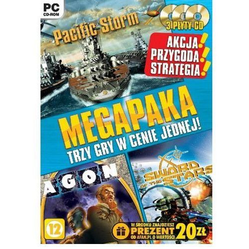 MEGAPAKA 3 GRY W 1 (PC). Najniższe ceny, najlepsze promocje w sklepach, opinie.