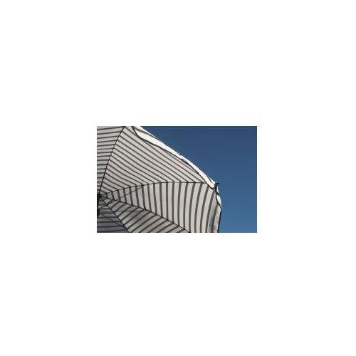 Parasol Ogrodowy W Czarno Białe Pasy, HM0116