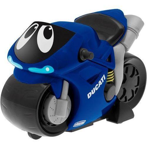 Motor turbo touch ducati niebieski, marki Chicco