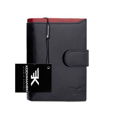 Skórzany portfel męski Kochmanski RFID stop 1205, 1205