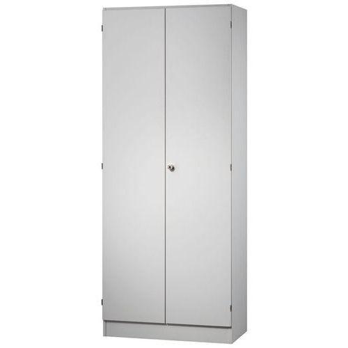 FINO - Szafa na akta, 4 półki, wys. x szer. x głęb. 2004x800x420 mm, jasnoszary.