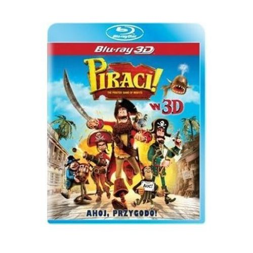 Film IMPERIAL CINEPIX Piraci! 3D The Pirates! Band of Misfits