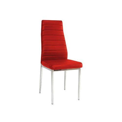 Krzesło H-261 Chrom Czerwony