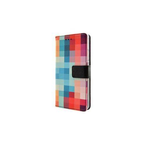 Pokrowiec na telefon FIXED Opus dla Nokia 6 - w kosteczki (FIXOP-202-DI)