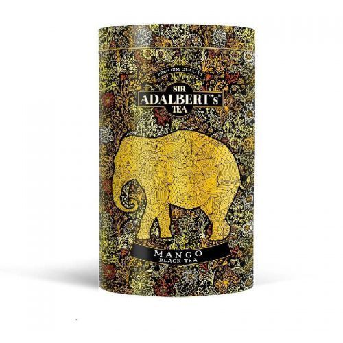 Sir adalbert's tea Sir adalbert's mango black tea liściasta puszka (4798810014343)