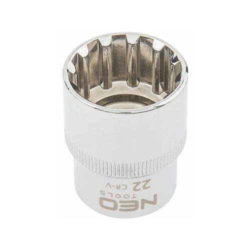 """Neo Nasadka spline 1/2"""", 22 mm 08-594 (5907558408409)"""