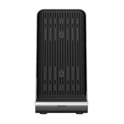 Ładowarka QI indukcyjna Baseus Vertical Desktop 10W Black
